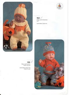 Bilde: Baby Born Clothes, Couture, Hobbit, Baby Dolls, Crochet Hats, Teddy Bear, Knitting, Animals, Archive