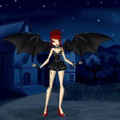 Another evil vampire girl. 🐭