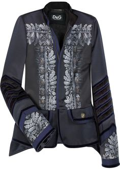 D&G Dolce & Gabbana Military Jacket Blazer #DGbyDolceGabbana #Military