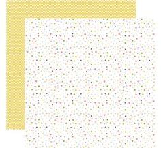 Echo Park Bundle of Joy 2 Baby Confetti Baby Girl Scrapbook Paper