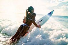 beach, bikini, blonde, brunette, dream - inspiring picture on Favim.com