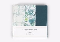 Quarter Fabric Pack : In the Tropics - Dailylike Canada