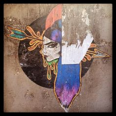 "Profile #graffiti #wheatpaste #wheatpasteartists #streetart #streetartroma #quadraro…"""