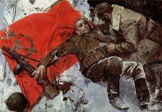 Realismo socialista-pintura rusa