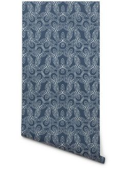 Hygge & West   Knots (Deep Blue/White)  Jack bathroom???