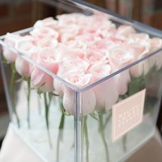Now LIVE ... #MelissaAndreValentine  available in 2 unique sizes at MelissaAndreValentine.com  pictured: 25 premium cut blush roses in a crystal acrylic box delivered on February 14, 2016 in Toronto- area .  @jatinderchanna