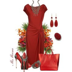"""Wearing it"" by msmeena on Polyvore #outfit #date #evening out"