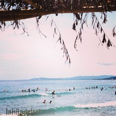 Surfing in San Juan, La Union