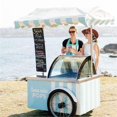 Sarah  Aluns Wedding - Ice Pop Treats