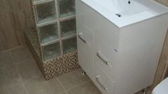 renovare baie la bloc (construire cabina dus ) Filing Cabinet, Storage, Furniture, Home Decor, Cabins, Purse Storage, Decoration Home, Room Decor, Larger