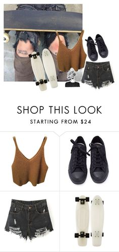 """•journal entry•"" by empty-goldd ❤ liked on Polyvore featuring Converse"