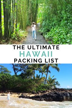Use this Hawaii packing checklist and guide to prepare for your next trip to the islands. We've got tips for what to pack for Hawaii, what clothes for Hawaii you'll need, and Hawaii essentials you don't want to forget. Plus, we'll show you how to pack for Hawaii in a carry on for a week or more! #HawaiiPackingList #HawaiiTravel Road Trip Packing, Packing Tips For Vacation, Packing Checklist, Packing Lists, Travel Packing, Budget Travel, Travel Usa, Pearl Harbor, Kauai