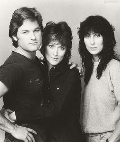 Kurt Russell, Meryl Streep and Cher, Silkwood, 1983.