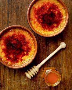 Honey Creme Brulee from The Dessert Deli cookbook