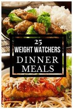 If you're looking for easy weight watchers meals for dinner with points, then look no further! This collection of 25 weight watchers meals. Weight Watcher Dinners, Weight Watchers Meal Plans, Weigh Watchers, Weight Watchers Diet, Weight Loss Meals, Weight Watchers Points List, Losing Weight, Weight Watchers Recipes With Smartpoints, Weight Watcher Recipes