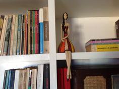 Guardiã de livros.