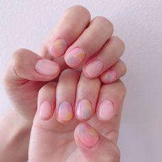 Cute Short Nails, Cute Nails, My Nails, Soft Nails, Simple Nails, Fabulous Nails, Gorgeous Nails, Stylish Nails, Trendy Nails
