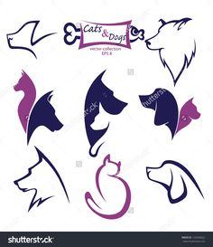 image.shutterstock.com z stock-vector-cats-and-dogs-my-favorite-pet-vector-collection-of-animals-symbols-129446822.jpg