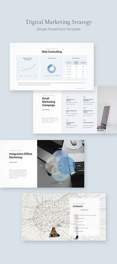 Discover recipes, home ideas, style inspiration and other ideas to try. Marketing Poster, Marketing Plan, Online Marketing, Social Media Marketing, Content Marketing, Simple Powerpoint Templates, Presentation Templates, Digital Marketing Strategy Template, Pptx Templates