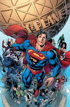 Superman: The Truth Revealed by Ivan Reis, inks by Joe Prado, colours by Alex Sinclair * Arte Do Superman, Mundo Superman, Superman News, Superman Images, Superman Costumes, Superhero Cosplay, Clark Kent, Comic Books Art, Comic Art