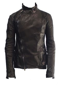 Men's leather jacket - Rick Owens.