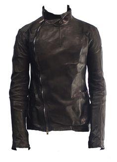 Men's leather jacket - Rick Owens.