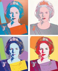 ANDY WARHOL | Reigning Queens (Royal Edition): Queen Beatrix of the Netherlands (F. & S. II.338A-341A) | Prints Auction | 1980s, Prints & Multiples | Christie's