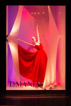 "Schlappi 2800 mannequin for Harrods ""True Colours"" windows"