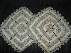 Set of Two Fancy Dishcloths