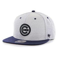 Chicago Cubs '47 Wheel Captain Snapback Adjustable Hat - Gray