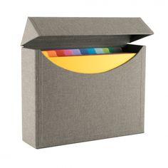 Intercalaire pour boîte d'archives A4 - Bookbinders Design Schweiz