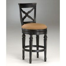 "Northern Heights 30"" Swivel Bar Stool with Cushion. WANT WANT WANT!!"