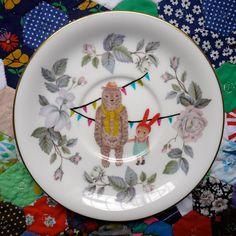 thestorybookrabbit plate
