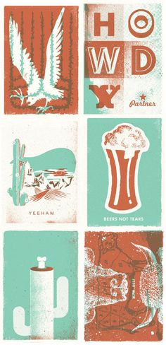 six prints by two arms inc.