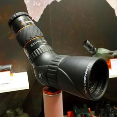 """Supercharge your Hummingbird ED micro spotting scope by putting a 1.25"""" diameter mount astro eyepiece in it. This Hummingbird 50ED with the X-Cel LX 5mm yields 34x of wide angle edge-to-edge sharpness. JR #photokina #optic #spottingscope #hummingbird #nature #observation"""