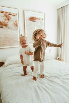 No More Monkey's Jumping on the Bed Little Babies, Cute Babies, Baby Kids, Cute Toddlers, Cute Kids, Baby Outfits, Well Dressed Kids, Kids Fashion Photography, Future Mom