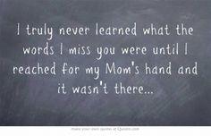 Mum. Mum's hand. But yes. ♥