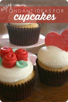 easy fondant cupcake decor ideas