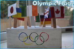Olympic Flag Activity