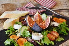 Foto gratis: Salada, Figos, Queijo - Imagem gratis no Pixabay - 1672505