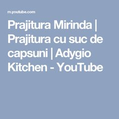 Prajitura Mirinda | Prajitura cu suc de capsuni | Adygio Kitchen - YouTube