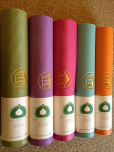 Custom Embroidered Yoga Mats @Aspen Yoga Mats