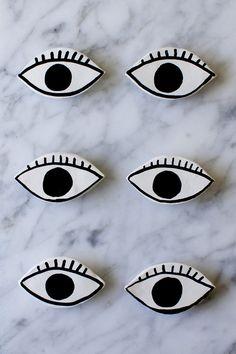 DIY eye magnets tutorial