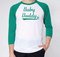 Baby Daddy Since 2013 - Fathers Day Jersey Personalized With Any Year