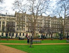 Gordon Square, London, home to Bloomsbury group writers and artists.