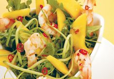 Prawn and rocket salad - Healthy salad ideas from Women's Health & Fitness
