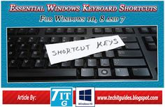 12 Useful Windows 10 Keyboard Shortcuts, 44 important Shortcuts keys for Windows 8 and list of Essential Windows Shortcut keys, Tech IT Guides Laptop Computers, Computer Keyboard, Computer Problems, Android Hacks, Keyboard Shortcuts, Windows 8, Tech, Tecnologia, Computer Keypad