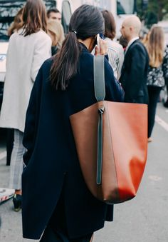 I'm hoping to inject a bit more color in my wardrobe and this Celine bag would be a great start. It looks great worn with understated basics drawing your focus to the interesting mix of color…