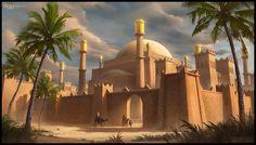 Middle Eastern Citadel by SilentIvo.deviantart.com on @DeviantArt