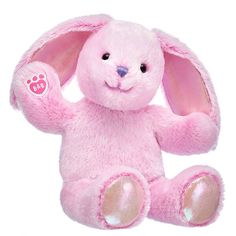 Pastel Pawlette™ is here to fill their baskets with love! This floppy-eared pink bunny stuffed animal looks sweet as springtime with her soft fur. Shop now at Build-A-Bear! Cuddle Buddy, Cute Stuffed Animals, Blue Gift, Build A Bear, Cute Little Things, Cute Bunny, Pet Shop, Little Princess, Cute Babies